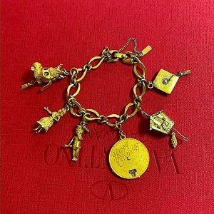 🖤C.1960s 💕MONET removable charm bracelet